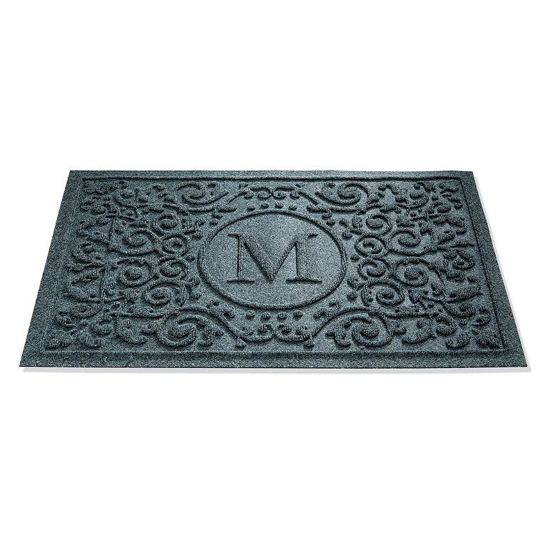 Water and Dirt Shield  Mandalay Monogrammed Door Mat