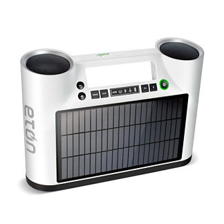 Rukus Solar Bluetooth Sound System
