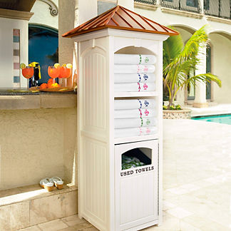 Commercial-quality Towel Valet