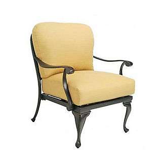 Provence Lounge Chair with Cushions by Summer Classics