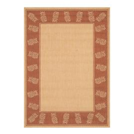 Oasis Retreat Outdoor Rug in Natural & Terra