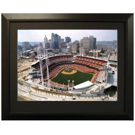Framed Aerial MLB Stadium Images
