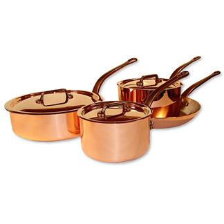 Mauviel 7-piece Copper Cookware Set