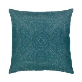 Medallion Indoor/Outdoor Pillow by Elaine Smith