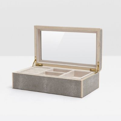 Rennes Large Jewelry Box by Pigeon and Poodle Frontgate