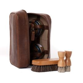Griffin Shoe Shine Kit by Moore and Giles