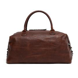 James Leather Club Bag by Moore and Giles
