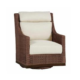 Peninsula Swivel Glider with Cushions by Summer Classics