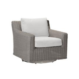 Rustic Speaker Swivel Lounge Chair by Summer Classics