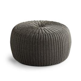 Hudson Pouf Tailored Furniture Cover