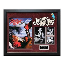 Jimmy Buffett Autographed Songbook Collage
