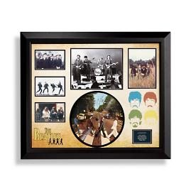 Beatles Autographed Abbey Road Album Collage