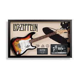Autographed Led Zeppelin Guitar