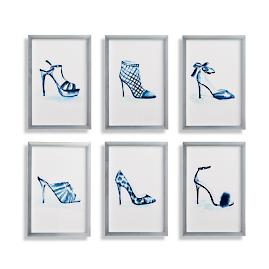 Stiletto Prints, Set of Six