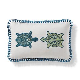 Isla Tortuga Indoor/Outdoor Pillow - Teal