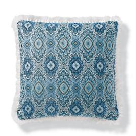 Alvina Indoor/Outdoor Pillow in Cobalt