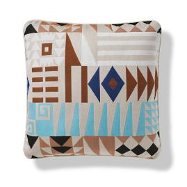 Naxos Puzzle Indoor/Outdoor Pillow - Sand