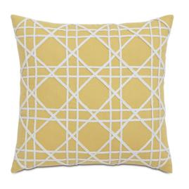 Coral Cabana Diamond Decorative Pillow by Eastern Accents