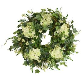 Costa Blanca and Fern Wreath