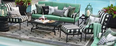 meet our high performing outdoor fabrics home style rh frontgate com outdoor fabric furniture paint fabric garden furniture