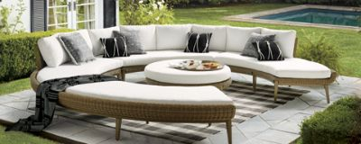 Charmant Since Its Heyday In The 1970s, Sectional Seating Has Gone From Mod To  Mainstream, Firmly Establishing Its Place In Family Rooms, On Outdoor  Patios, ...