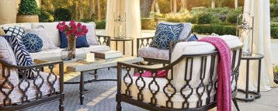 Designing The Cast Aluminum Avery Collection Came Naturally To Outdoor  Senior Furniture Designer Esse Tarrolly. You Might Even Say It Was In Her  Blood.