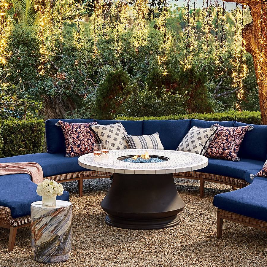 Fireside Decorating Ideas For Your Outdoor Space - Home + Style