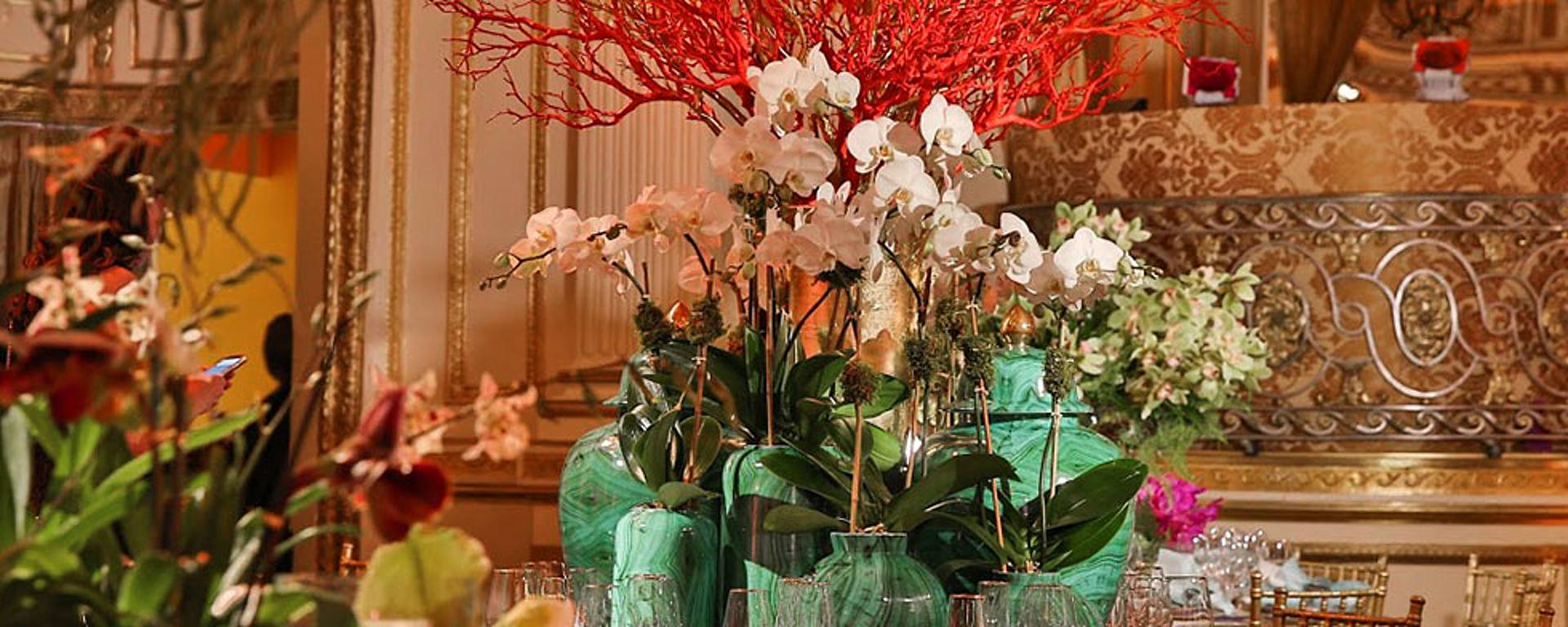 OUT & ABOUT: THE NEW YORK BOTANICAL GARDEN\'S ORCHID DINNER - Home + ...