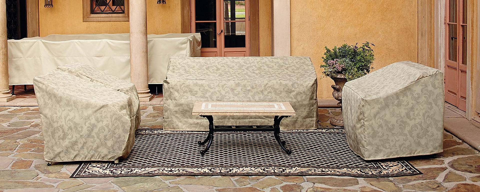Outdoor furniture covers a buying guide home style for Patio furniture covers