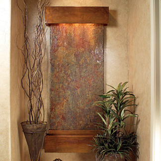 Wall Sculptures - Wall Fountains - Indoor Waterfalls | Frontgate