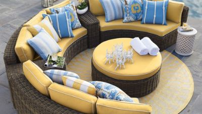 Beau Since Its Heyday In The 1970s, Sectional Seating Has Gone From Mod To  Mainstream, Firmly Establishing Its Place In Family Rooms, On Outdoor  Patios, ...
