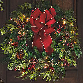 wreaths garlands - Frontgate Christmas Trees