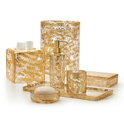 Labrazel Lydia Gold Bath Accessories Frontgate