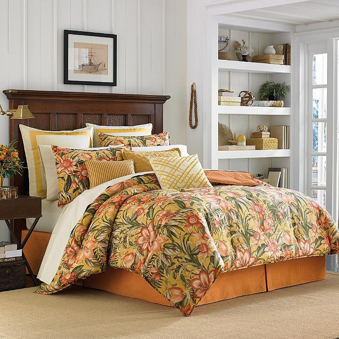 Tommy Bahama Tropical Lily Duvet Set