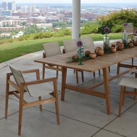 Coast Teak Dining Collection By Summer Classics