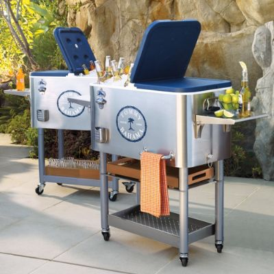 Tommy Bahama Coolers With Rolling Base Frontgate