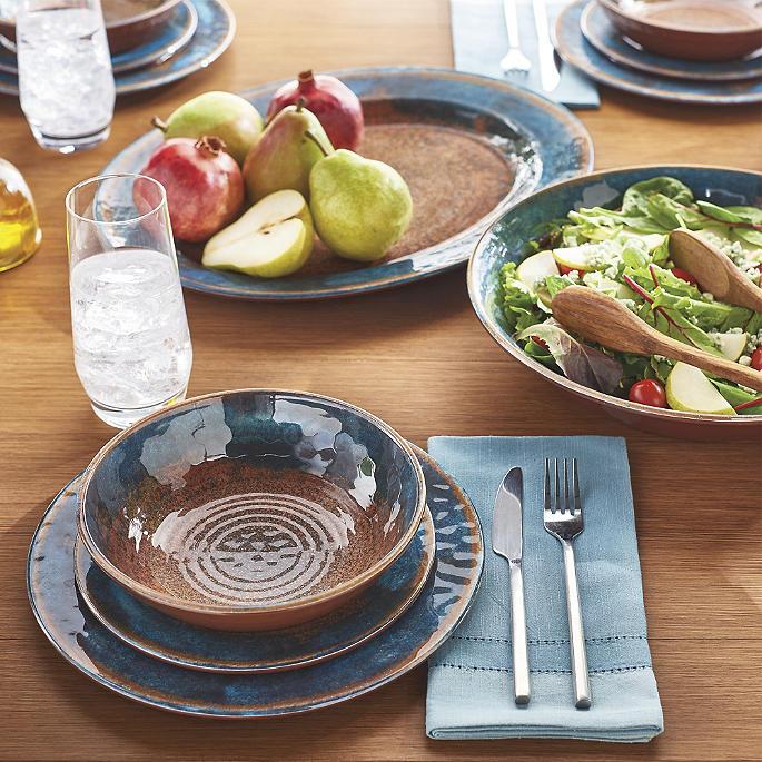 Transcendence 24-pc. Party Pack & Transcendence Melamine Dinnerware | Frontgate
