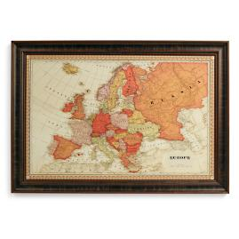 Us magnetic travel map frontgate europe magnetic travel map gumiabroncs Choice Image