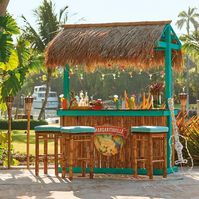 Margaritaville Trinidad Tiki Bar Frontgate
