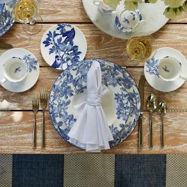 Caskata Blue Arbor Dinnerware & Caskata Crab Dinnerware | Frontgate