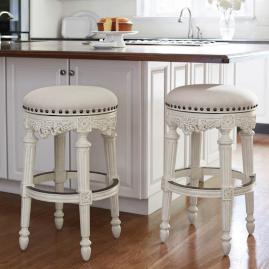 Linwood Backless Bar And Counter Stools Frontgate