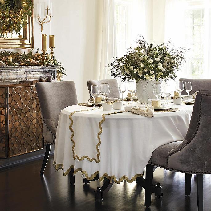 Donatella Embroidered Tablecloth