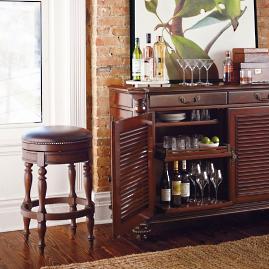 Provencal Grapes Swivel Backless Bar And Counter Stools