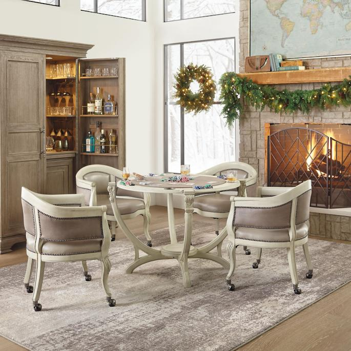 Montgomery Game Table And Two Chairs