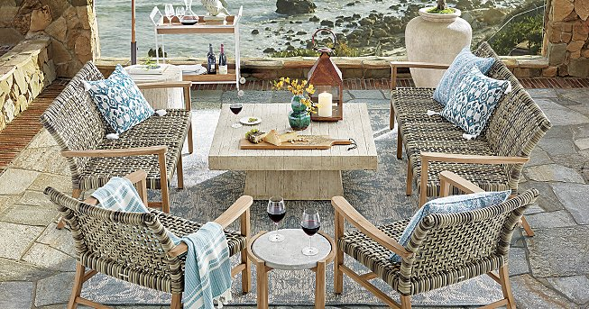 Isola Natural - Patio Furniture Sets Frontgate