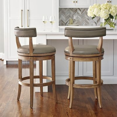 Henning Low Back Bar And Counter Stools Frontgate