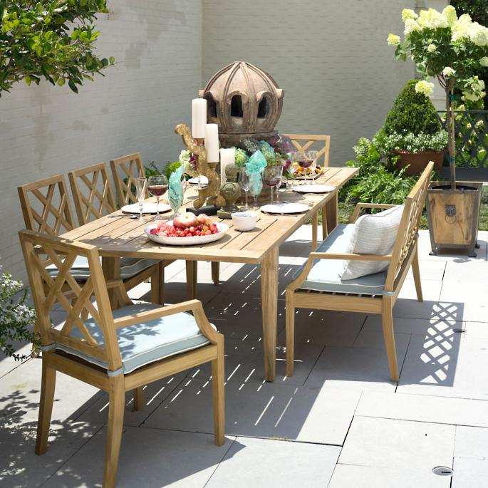 Haley Dining Collection By Summer Classics Frontgate