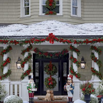 Christmas Cheer Greenery Collection Frontgate