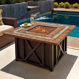 Springfield Gas Fire Table