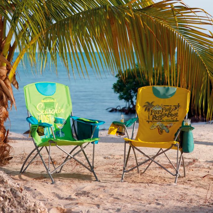 Margaritaville Flip Flop Shop Folding Chair